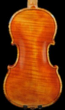 Violin in the style of A. Stradivari c.1707 back