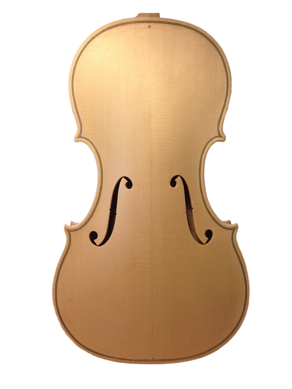 Kemp copy in the white Per Ovesen Violin Maker