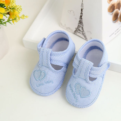 Newborn Baby Girl Boy Shoes Soft Sole Crib Shoes Canvas hoes BabyShoes Toddler