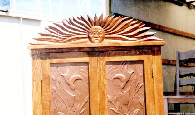 Custom Sun Armoire