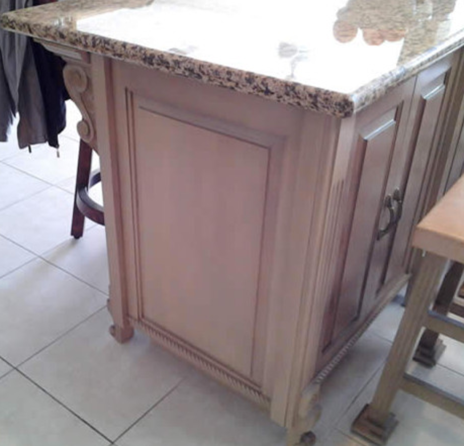 Kitchen Island - Custom design