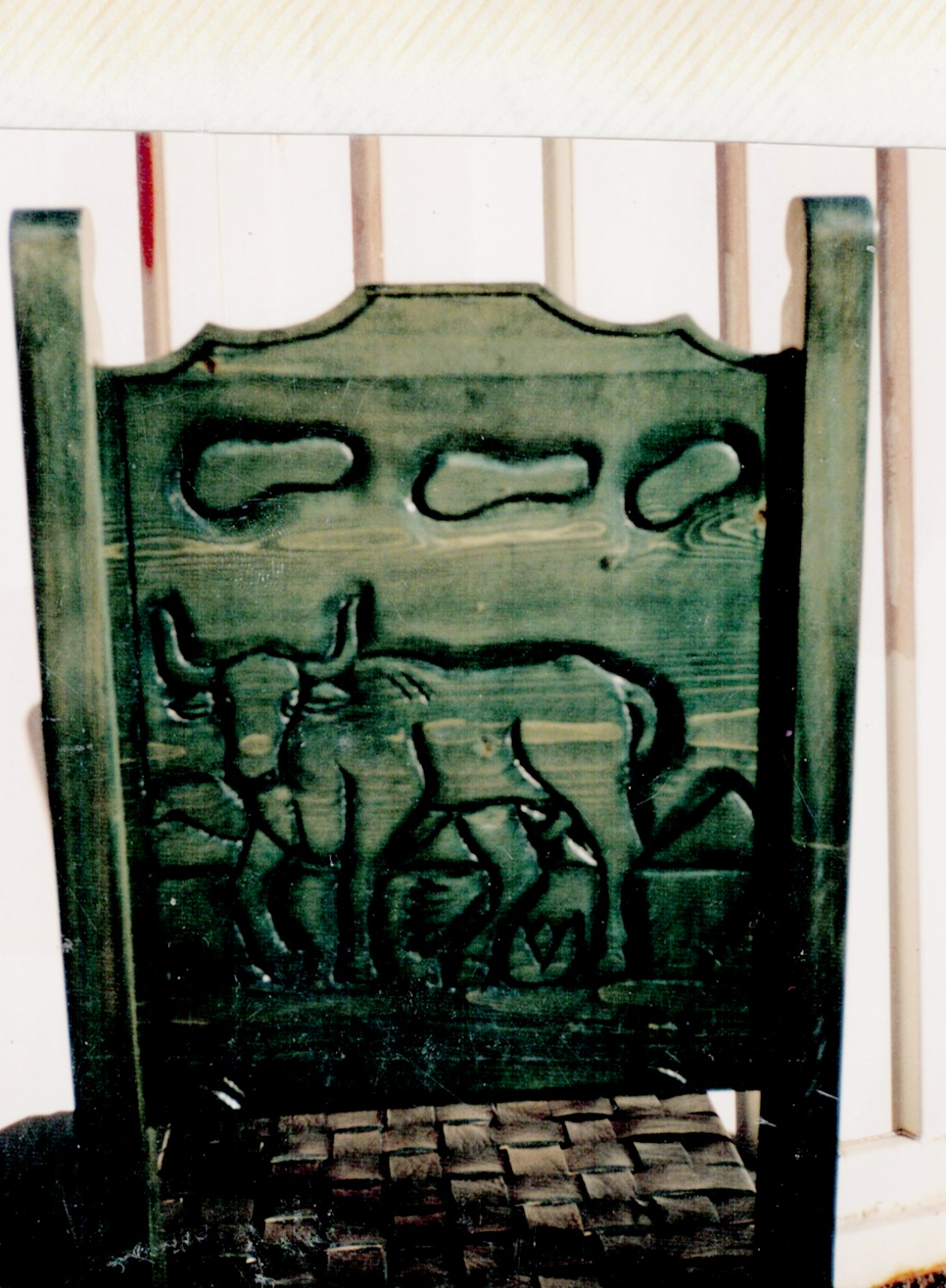 Hand Carved Chairs