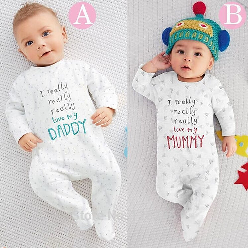 2020 New Baby Boy Clothes Boys Girls Clothing Unisex Long-Sleeved Clothing