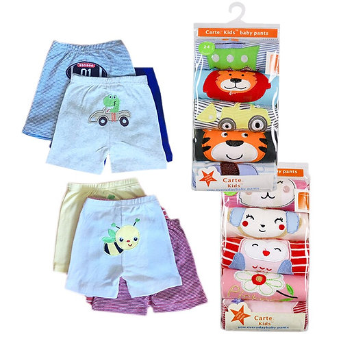 5pcs/Pack 0-2years PP Pants Trousers Baby  Free Shipping.Baby Clothing