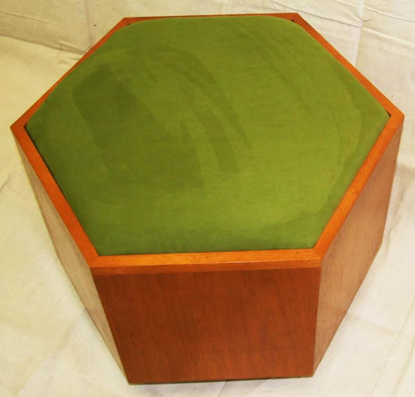 Frank Lloyd Wright Footstool