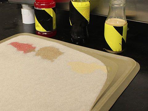 Brown Carpet - Stain Test