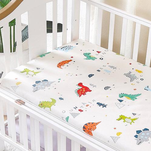 Customize Baby Kids Bed Sheet Crib Mattress Cover Bedding Set  for Girls Boys