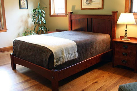 Custom Built Bed Frame