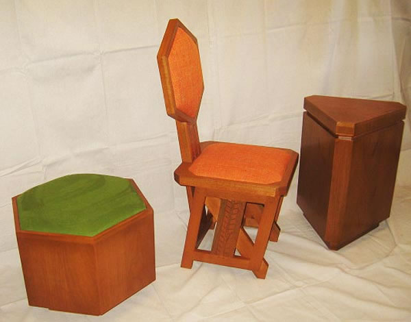 Frank Lloyd Wright Repro Furniture