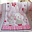 Thumbnail: Cotton Nordic Girl Crib Bedding Sets Newborns Mattress Cover Crib Bedding Girl