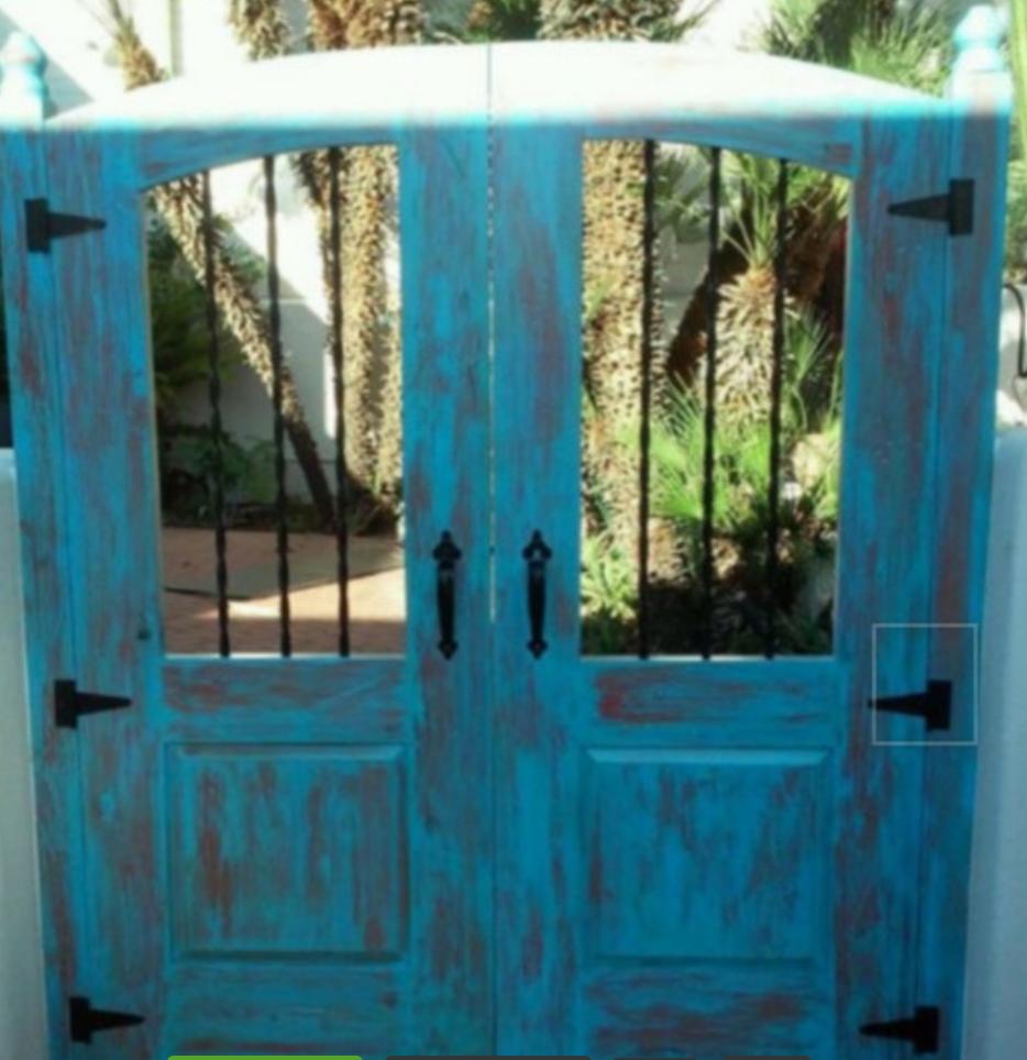 Exterior Entry Gate
