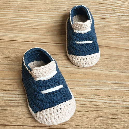 Crochet Baby Shoes, Crochet Baby Shoes,Sizes 0-12 Months Hand-Wove Baby