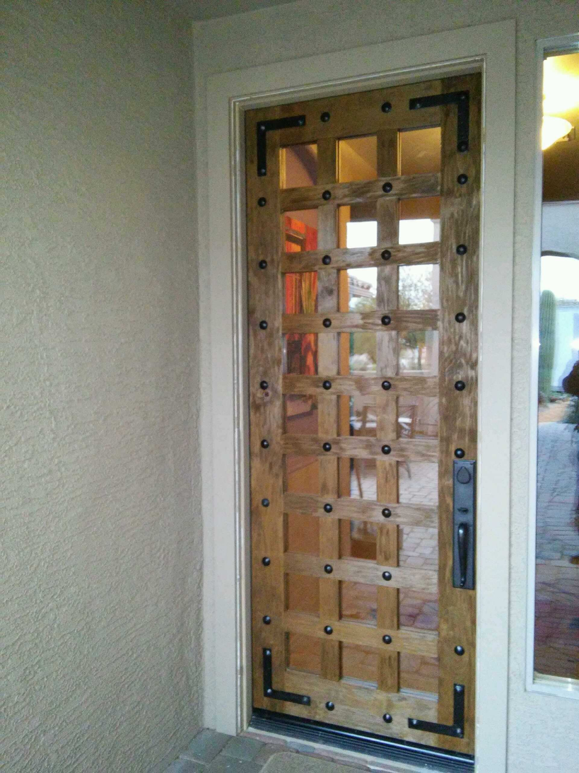 Exterior Front Door - Tucson Arizona