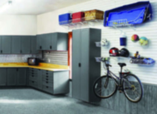 Garage Cabinets designed to organize a garage in Tucson