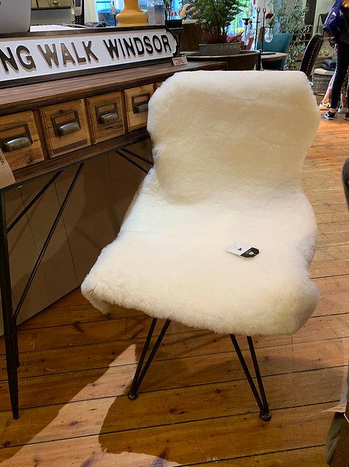 XL Ivory Sheepskin 100cm