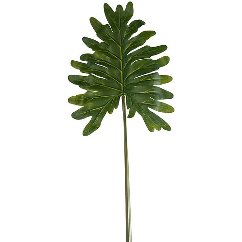 Faux Philodendron Leaf