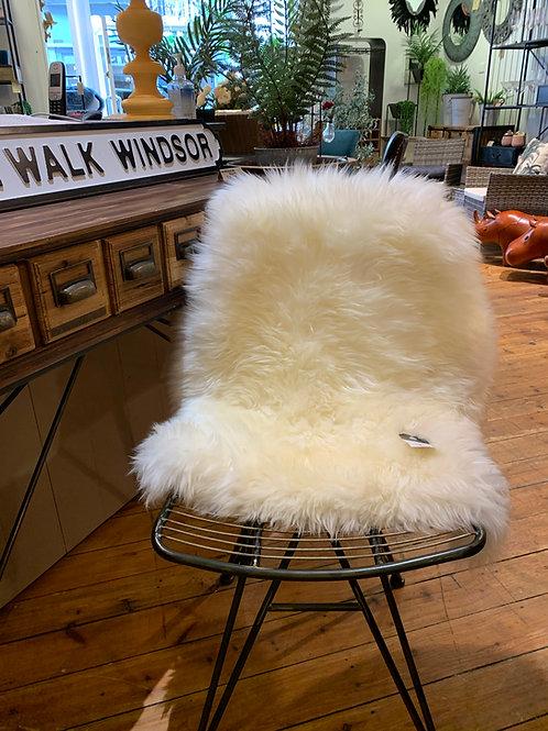 Large Ivory Sheepskin 95cm