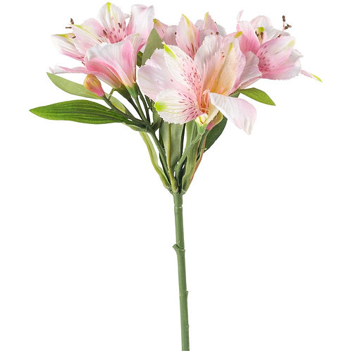 Light Pink Faux Lily Spray