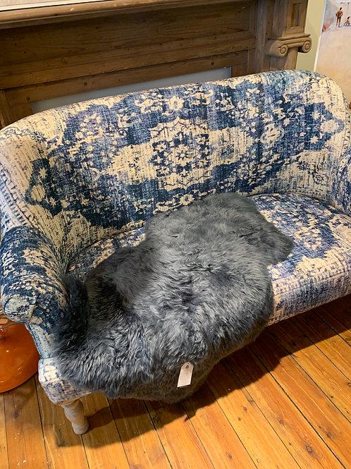 Large Light Grey Sheepskin