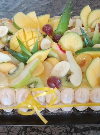 Tarte aux fruits - Arts-Sucrés