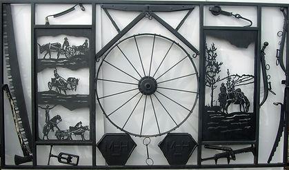 Sundre Museum fence project