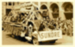 Sundre float in the Calgary Stampede Parade