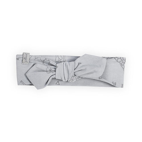 Haarband 'Safari grey'