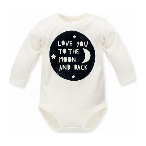 Romper 'Love you to the moon & back'