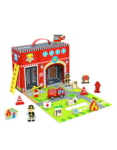 Fire station speelbox