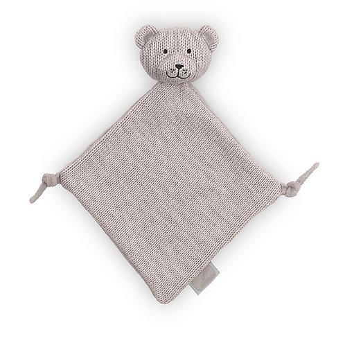 Knuffeldoekje Natural Knit Bear sand