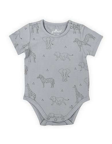 Romper korte mouw 'Safari grey'