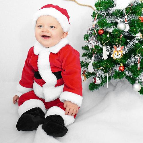 Kerstpakje Little Santa (3 - 12 mnd)