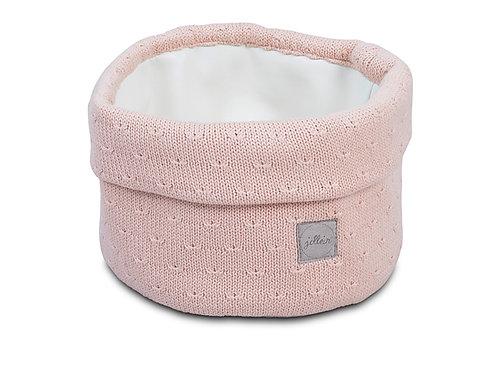 Verzorgingsmandje Soft Knit Creamy Peach