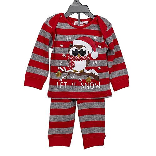 Pyjama Let it snow (6-24mnd)