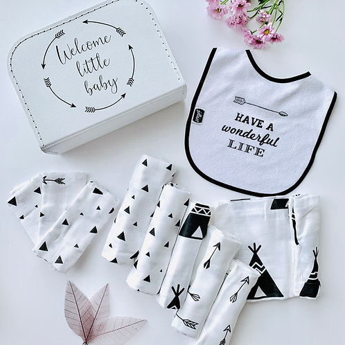 Geschenkbox 'Welcome little baby'