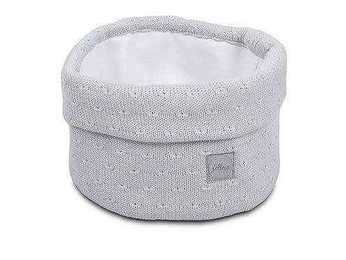Verzorgingsmandje Soft Knit Light Grey
