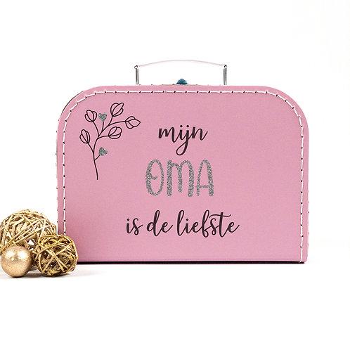 Koffertje 'mijn oma is de liefste'