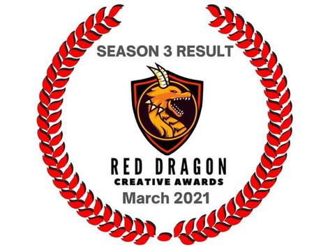 RED DRAGON CREATIVE AWARDS (Season 3)