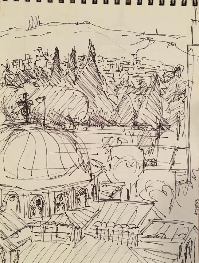 Sketching the Greek Isles