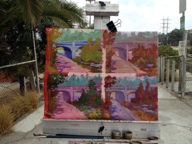 Quad Paintings