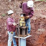 Hydraulic Foundation Installation