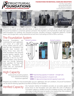Foundations for Material Handling Industries
