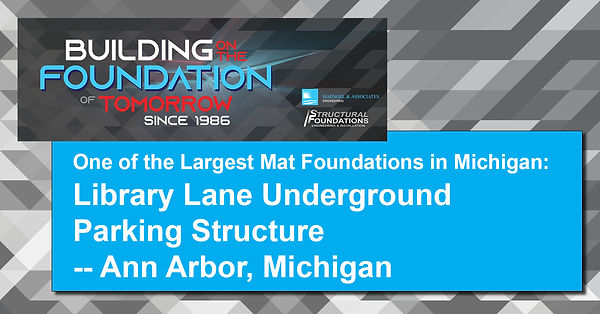 One of the Largest Mat Foundations in Michigan