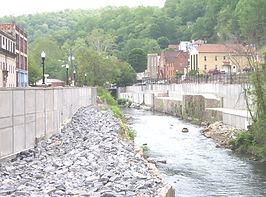 Structural Foundations Flood and Retaining Wall in Welch, WV