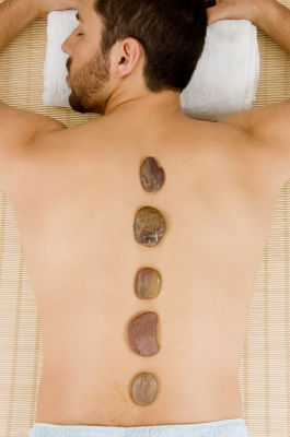Lavender & Black Musk Lava Stone Massage
