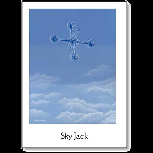 Sky Jack 5x7 Note Card
