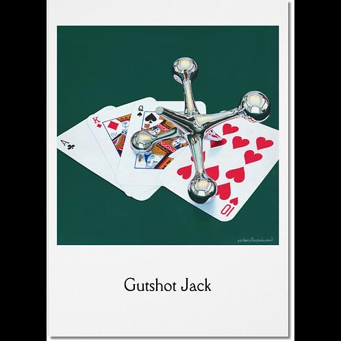 Gutshot Jack 5x7 Note Card