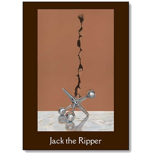 Jack the Ripper 5x7 Note Card