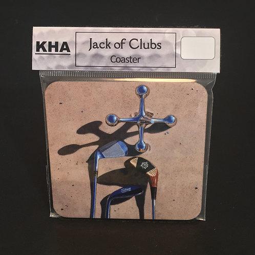 Jack of Clubs Coaster