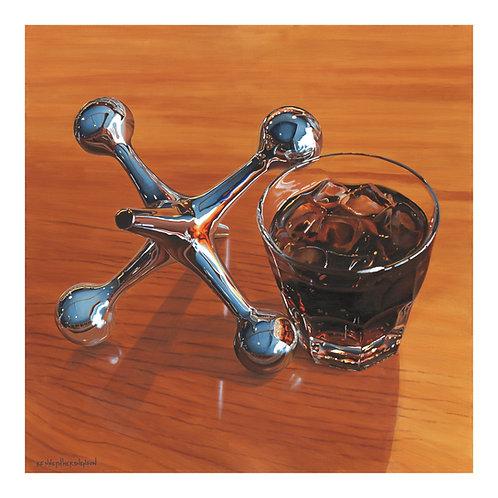 Jack and Coke - Paper Print